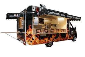 GAMO Street Food Master 400 Food Truck