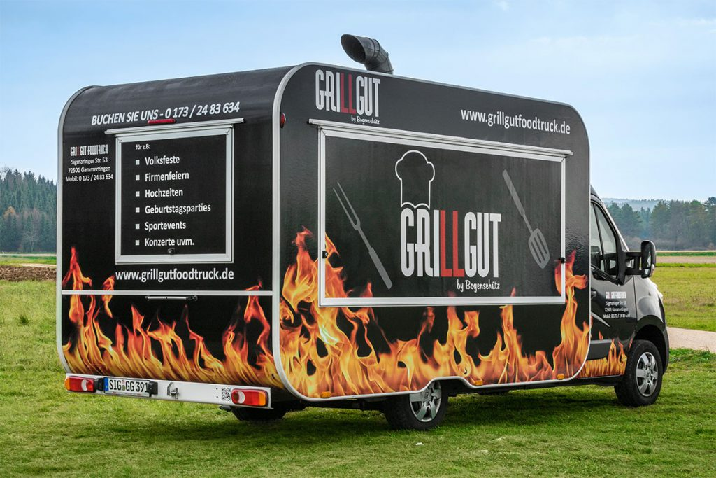 gamo-foodtruck-food-truck-beklebung-design-schwarz-retro-grillgut-burger-imbiss