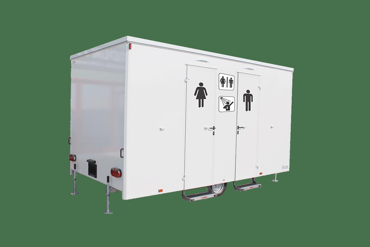 Mobiles Badezimmer & Sanitärwagen Kaufen I Hersteller GAMO